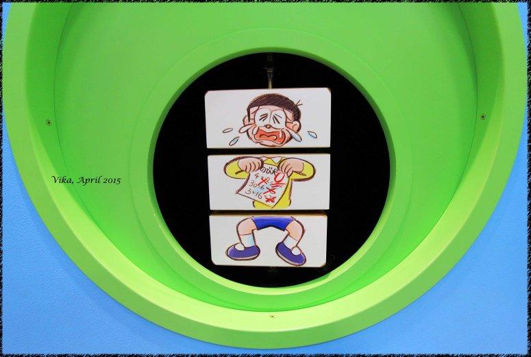 Nobita with his exam