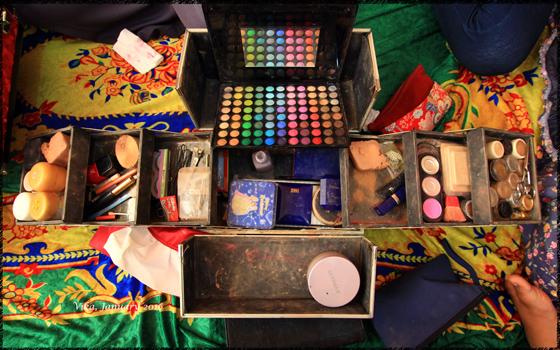 Make up case Bunga