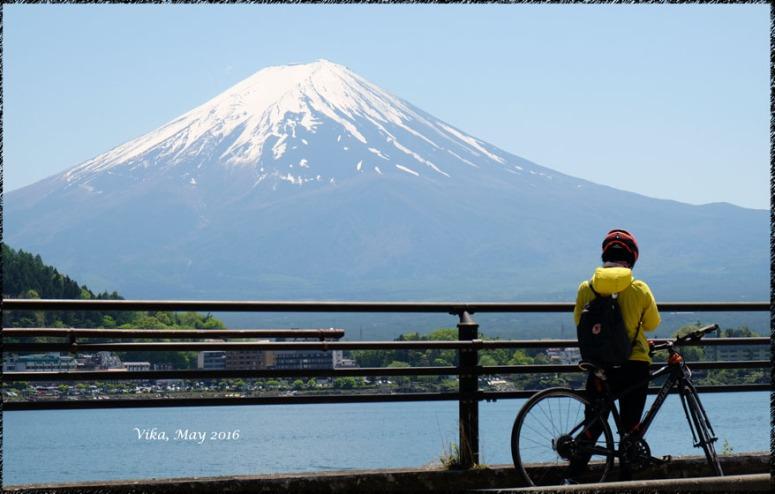dan seseorang pun terpesona dengan keanggunan Fuji-san